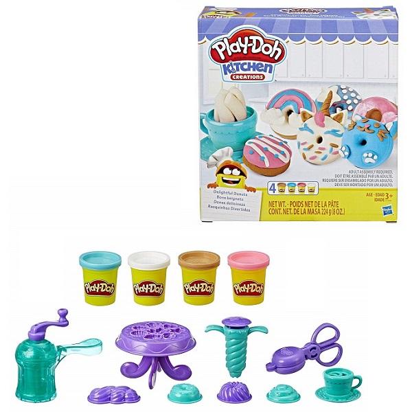 цена на Hasbro Play-Doh E3344 Плей-До Выпечка и пончики