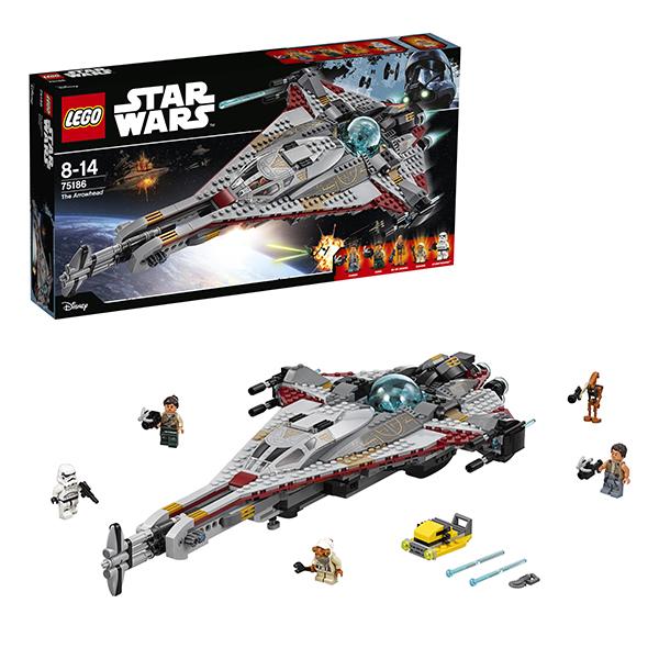 Lego Star Wars 75186 Конструктор Лего Звездные Войны Стрела lego star wars 75165 лего звездные войны боевой набор империи
