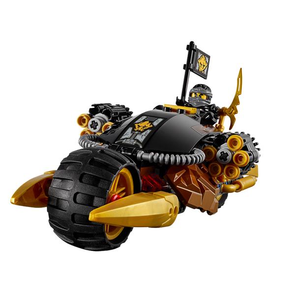 LEGO Ninjago 70733 Конструктор ЛЕГО Ниндзяго Бластер-байк Коула