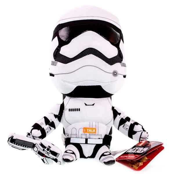 Star Wars SW01902 Звездные войны Эпизод 7 брелок Штурмовик Первого порядка со звуковыми эффектами мягкие игрушки star wars игрушка starwars йода плюшевый со звуком