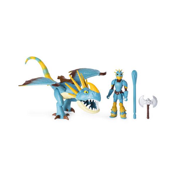 Dragons 66621St Игровой набор дракон и фигурка Викинга, Stormfly