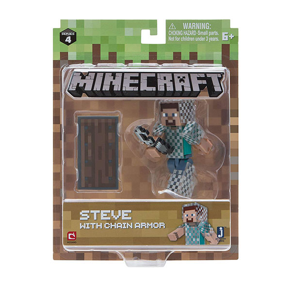 Minecraft 16493 Майнкрафт фигурка Steve in Chain Armor