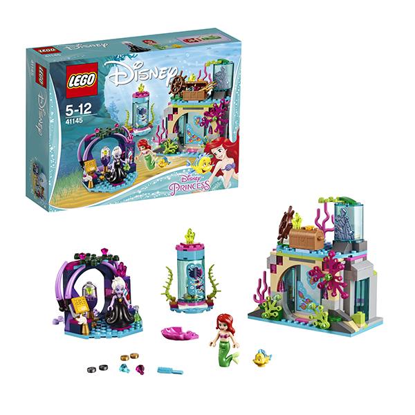 Купить Лего Принцессы Дисней Lego Disney Princess 41145 Лего Принцессы Ариэль и магическое заклятье 41145