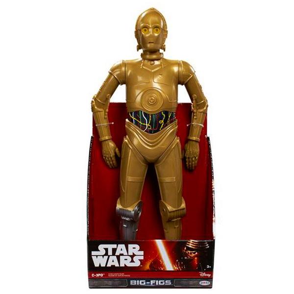 Big Figures 996570 Большая фигура Звездные войны C-3PO, 46 см big figures 65219 большая фигура звездные войны шок клон 79 см