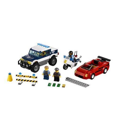 LEGO City 60007 Конструктор ЛЕГО Город Погоня за преступниками