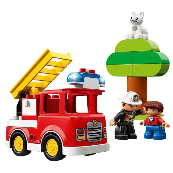 LEGO DUPLO 10901 Конструктор ЛЕГО ДУПЛО Пожарная машина