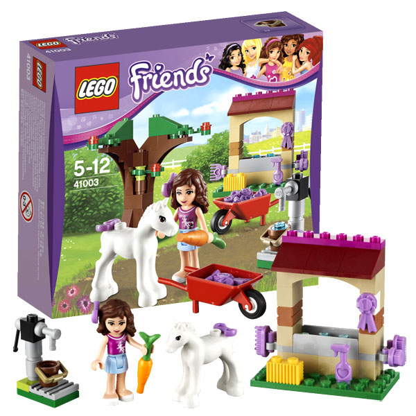 Конструктор Lego Friends 41003 Лего Подружки Маленькая лошадка Оливии