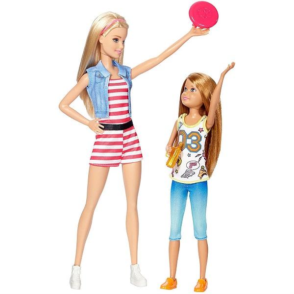 Mattel Barbie DWJ64 Набор кукол Скиппер и Стейси barbie набор сестра барби с питомцем barbie dmb26