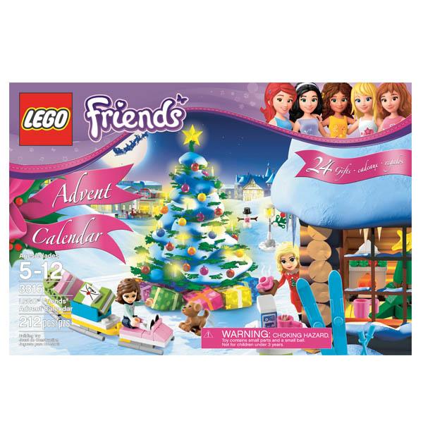 Лего Подружки 3316 Новогодний календарь LEGO Friends