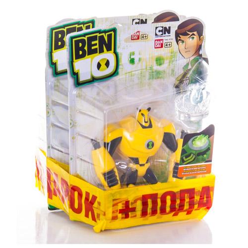 Ben10 97730NB Бен 10 Сезон 3 Набор 3 по цене 2 Фигурка 10 см (в ассортименте)