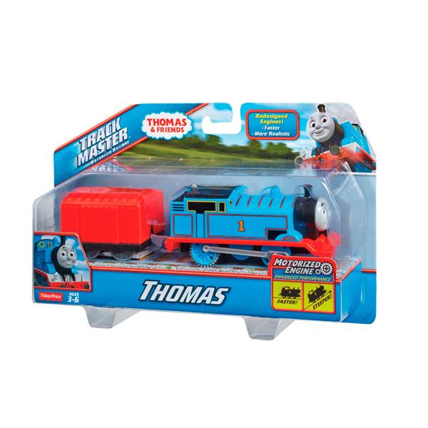 Mattel Thomas & Friends BML06 Томас и друзья Паровозик Томас с вагоном, синий