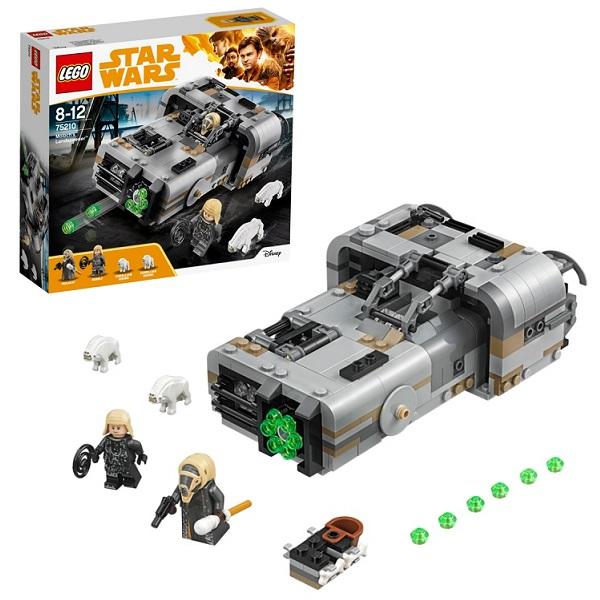 Lego Star Wars 75210 Конструктор Лего Звездные Войны Спидер Молоха lego education 9689 простые механизмы