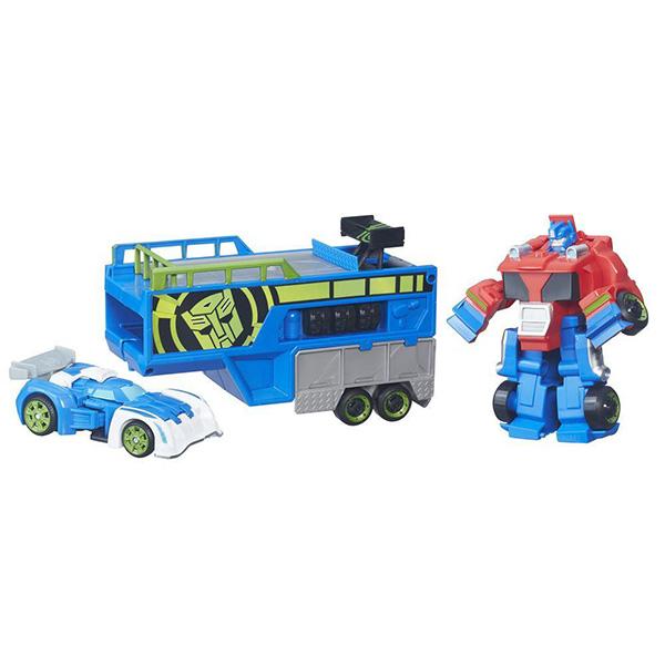 Hasbro Playskool Heroes B5584_9 Трансформеры Спасатели: Гоночный комплект