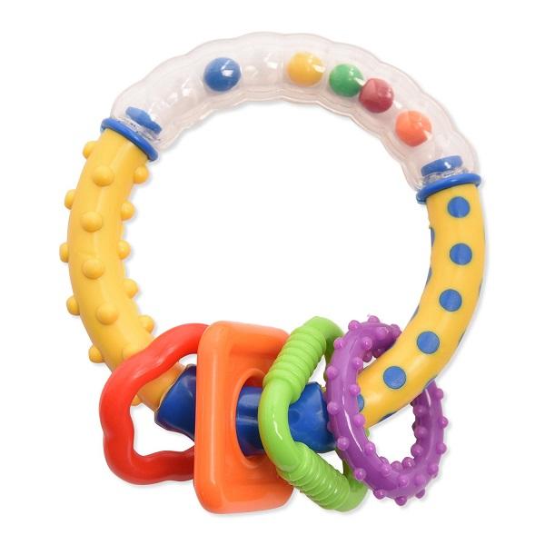 Canpol babies 250927012 Погремушка - разноцветные колечки, 0+