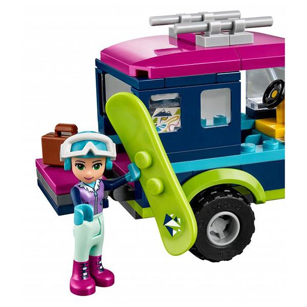 Lego Friends 41321 Конструктор Горнолыжный курорт: внедорожник