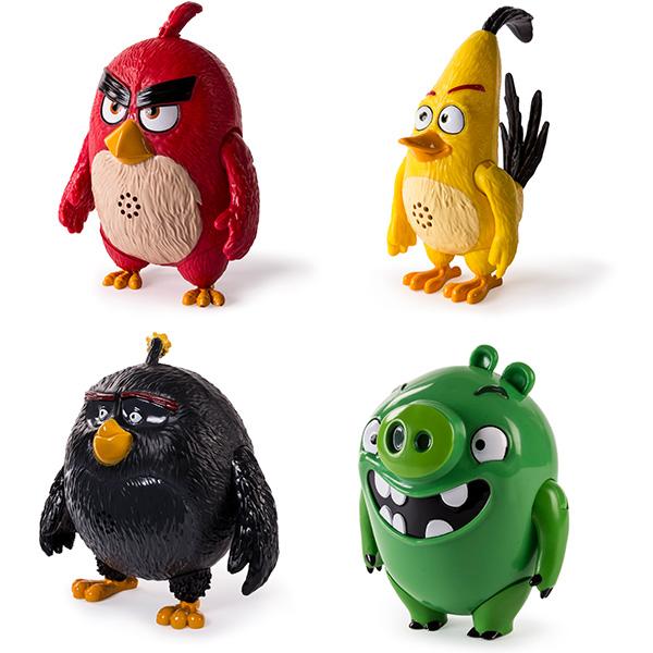 Angry Birds 90510 Энгри Бердс Интерактивная говорящая птица (в ассортименте) angry birds мяг игр 20см желтая птица и игрушка подвеска с клипом 7см