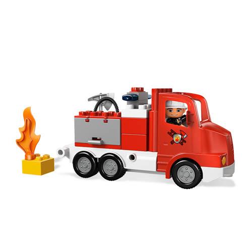 Конструктор Lego Duplo 5682 Лего Дупло Пожарный грузовик