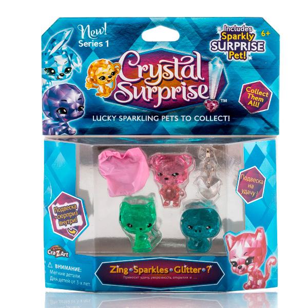 Crystal Surprise 45713 Кристал Сюрприз Игровой набор - 4 фигурки (в ассортименте)
