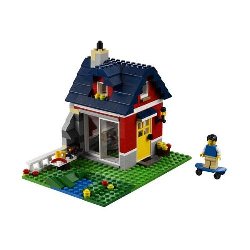 Конструктор Лего Криэйтор 31009 Конструктор Маленький коттедж (мельница/дом скейтбордиста)