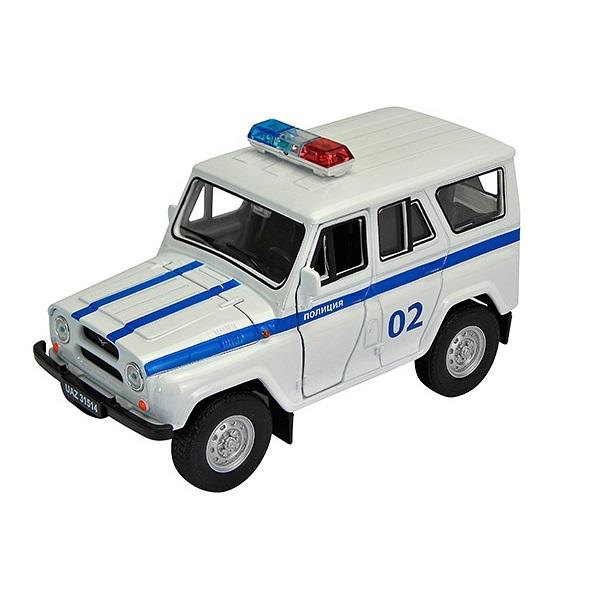 Welly 42380PB Велли Модель машины 1:34-39 УАЗ 31514 Полиция цена