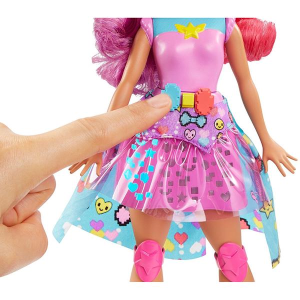 """Mattel Barbie DTW00 Барби Кукла """"Повтори цвета"""" из серии """"Barbie и виртуальный мир"""""""