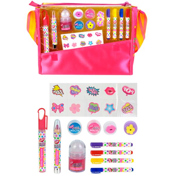 Markwins 3704651 POP Игровой набор детской декоративной косметики в сумке