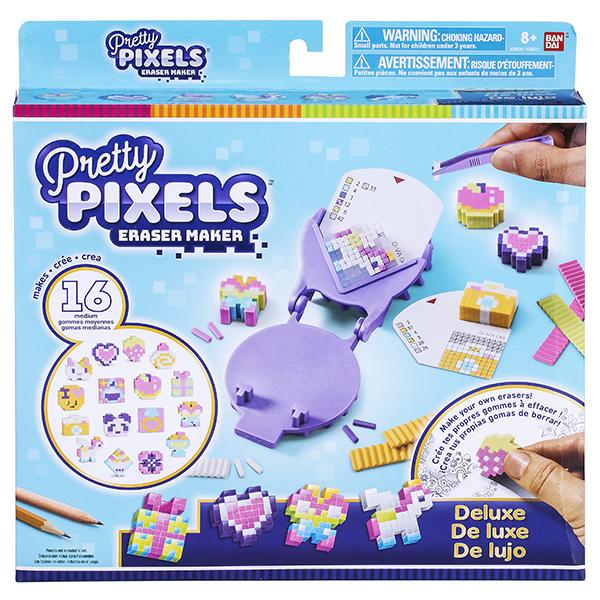 """Pretty Pixels 38530 Студия для создания фигурных ластиков """"Много друзей не бывает!"""""""