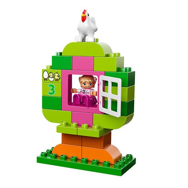 Лего Дупло 10571 Лучшие друзья: курочка и кролик