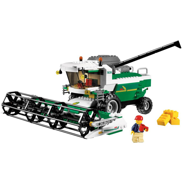 Lego City 7636 Конструктор Лего Город Комбайн