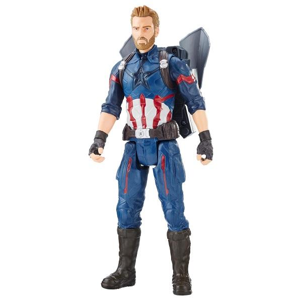Hasbro Avengers E0607 Фигурка Капитан Америка Пауэр Пэк