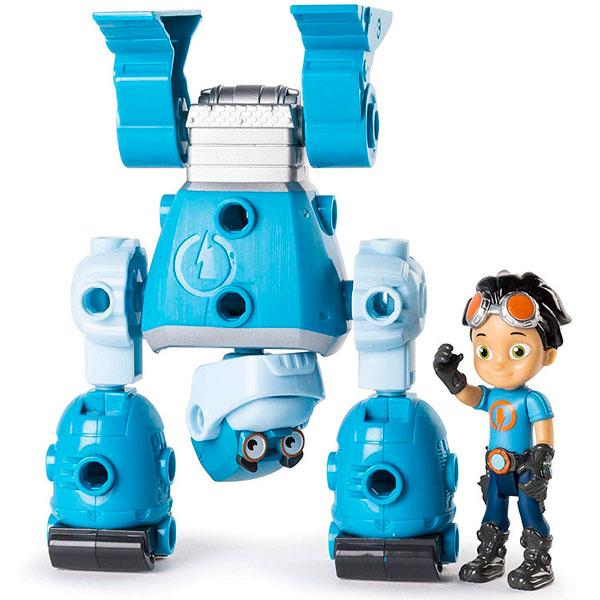 Rusty Rivets 28106-BOT Строительный набор большой с фигуркой героя BOTARILLA