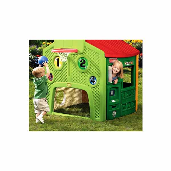 Little Tikes 444C_57 Литл Тайкс Игровой мульти-домик (спорт, школа, заправка, магазин)