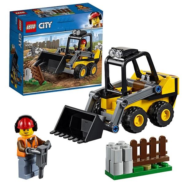 LEGO City 60219 Конструктор ЛЕГО Город Транспорт: Строительный погрузчик стоимость