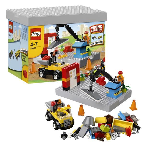 Конструктор Лего Криэйтор 10657 Конструктор Моя первая стройка
