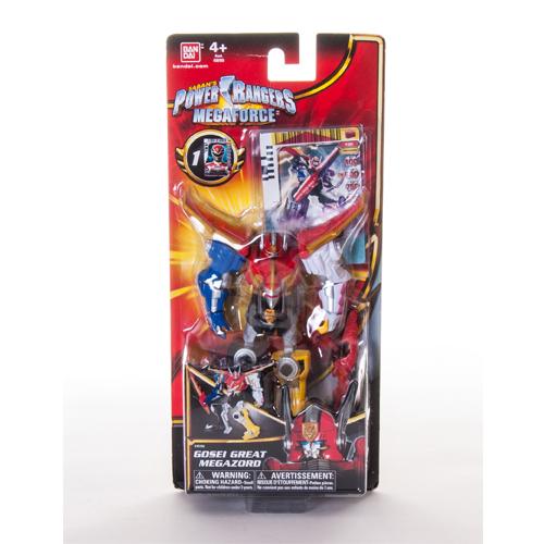 Power Rangers Samurai 35155 Пауэр Рейнджерс Самурай-Мегазорд подвижный в асс.