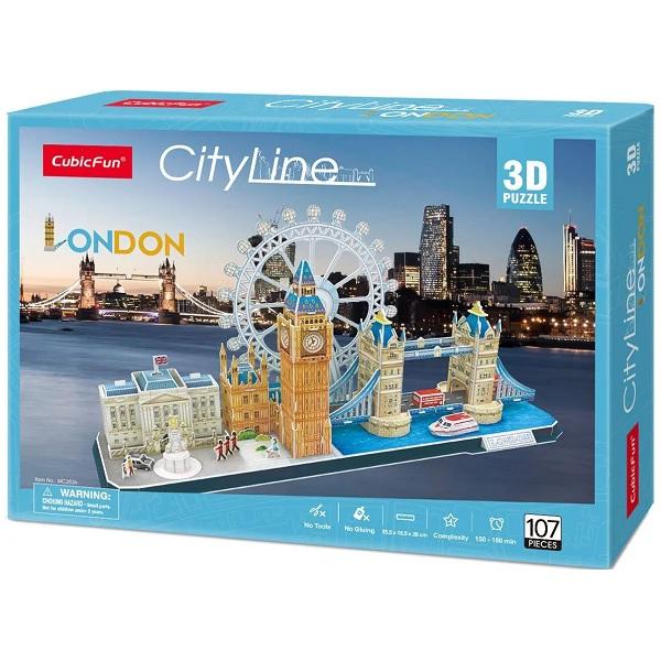 Cubic Fun MC253h Достопримечательности Лондона