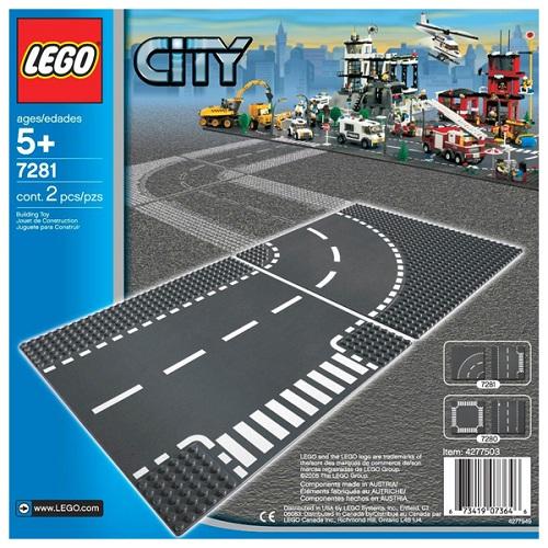Lego City 7281 Конструктор Лего Город Т-образная развязка