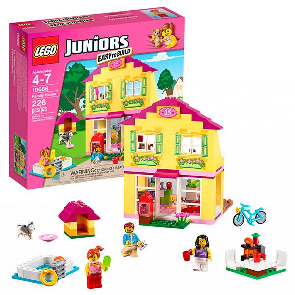 Lego Juniors 10686 Лего Джуниорс Семейный домик lego juniors 10739 лего джуниорс ниндзяго нападение акулы