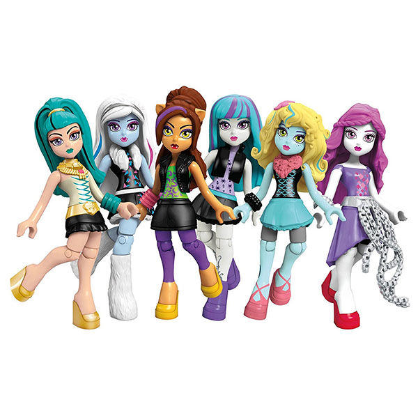 Mattel Monster High CNF78 Базовые фигурки персонажей mattel monster high fcv81 набор кукол из серии семья монстриков