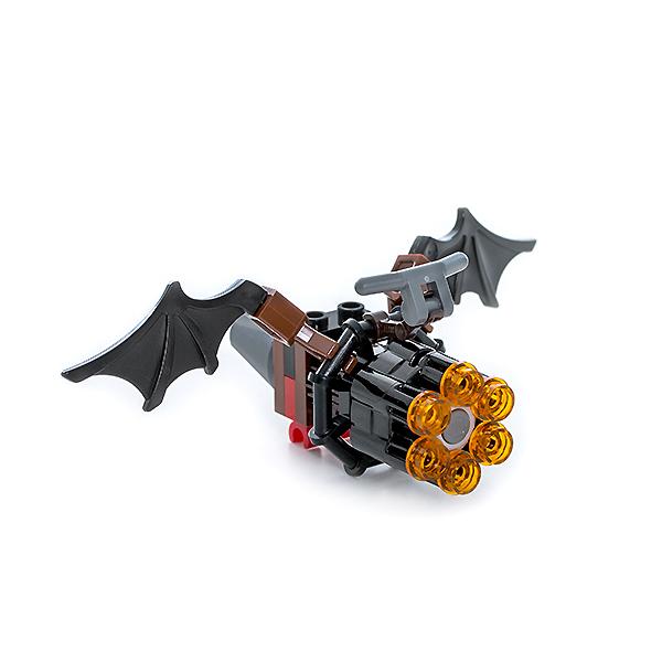 LEGO Nexo Knights 271609 Конструктор ЛЕГО Нексо Летучая мышь с оружием