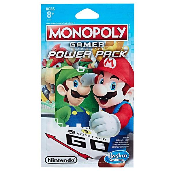 Hasbro Monopoly C1444 Монополия Геймер дополнительные герои