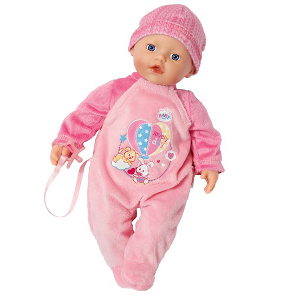 Zapf Creation Baby born 822-524 Бэби Борн my little BABY born Кукла 32 см выключатель 773609 legrand