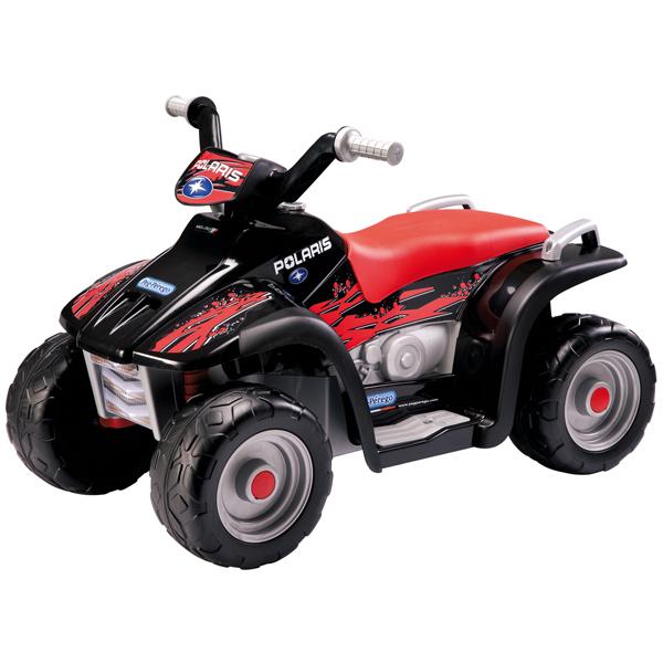 Детский электроквадроцикл Peg-Perego ED1106_1 Polaris Sportsman 400 Nero