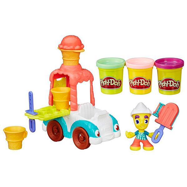 Hasbro Play-Doh B3417 Игровой набор Грузовичок с мороженым hasbro play doh игровой набор магазинчик печенья с 3 лет