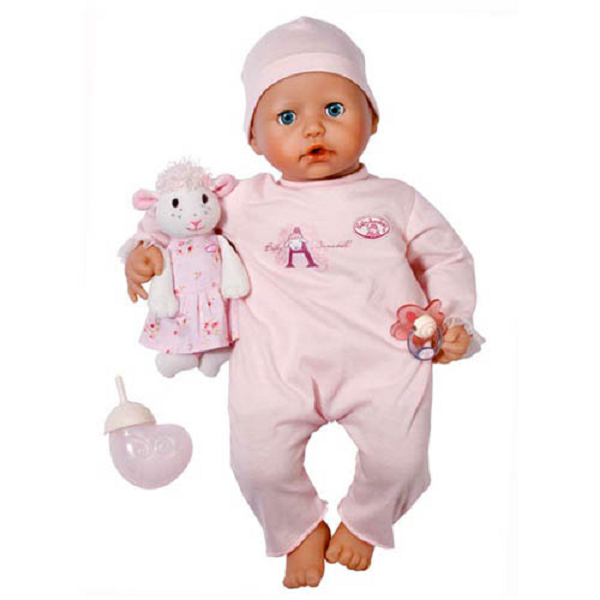 Zapf Creation Baby Annabell 773-680_1 Бэби Аннабель Кукла многофункциональная 46 см