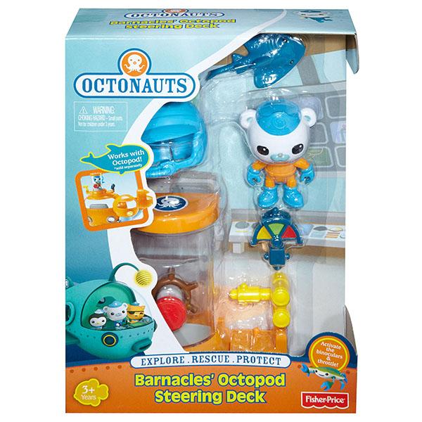 Mattel Octonauts BDL89 Октонавты Капитан Барнаклс и подводная палуба