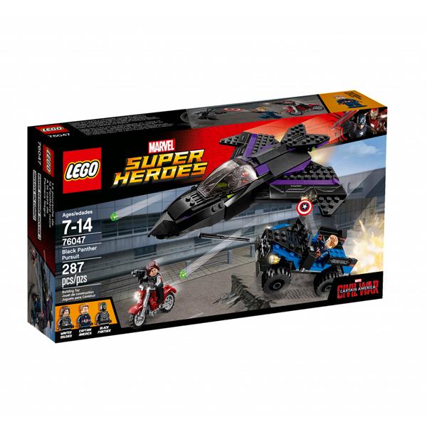 Lego Super Heroes 76047 Конструктор Лего Супер Герои Преследование Чёрной Пантеры