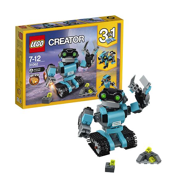 Lego Creator 31062 Конструктор Лего Криэйтор Робот-исследователь lego creator 31083 конструктор лего криэйтор морские приключения