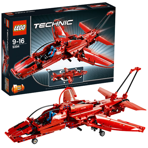 Lego Technic 9394 Конструктор Реактивный самолёт