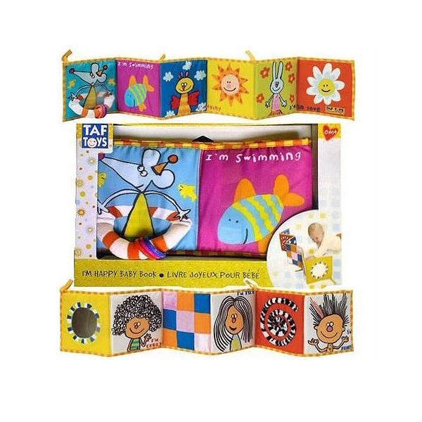 Taf Toys 106750 Таф Тойс Развивающая книжка taf toys taf toys игрушка развивающая книжка
